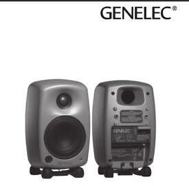 Genelec 8020a Studio monitors (Pair)