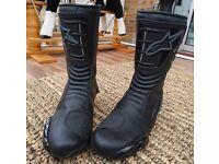 Alpinestars S-MX4 waterproof motor cycle boots size 45