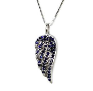 STUNNING DIAMOND WING PENDANTS, 14K GOLD CHAIN INCLUDED