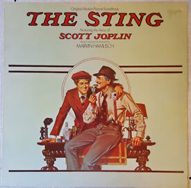 The Sting original movie soundtrack Robert Redford HAND SIGNED