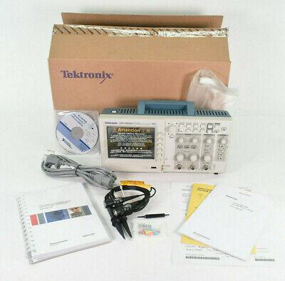 New Tektronix Tds1002b 2-ch Digital Storage Oscilloscope Dso 60mhz 1gss