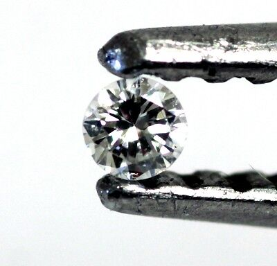Loose Individual Round Diamond Melee 1 8Mm Vs F G 0 02Ct Vintage Estate Antique