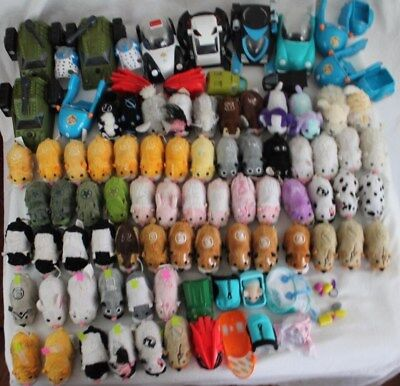 ZHU ZHU Hamster Pets HUGE Lot 101 Pieces Accessories Battle Armor