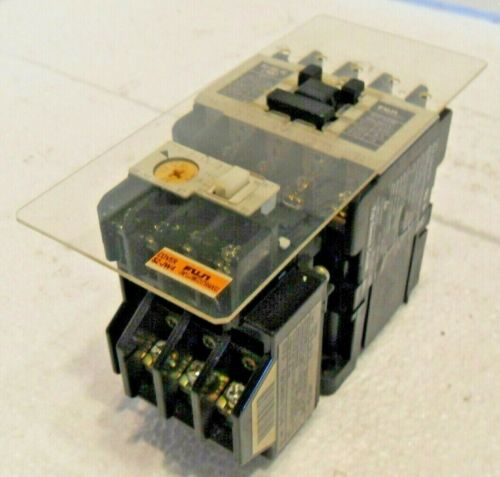 Fuji Electric SC-5-1Y Industrial Control Contactor with TR-5-1NY/3 and Cover