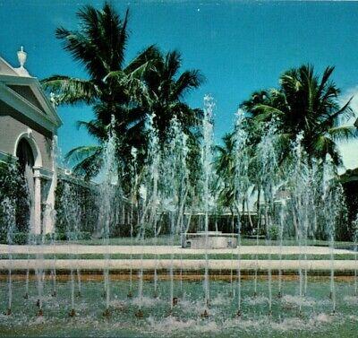 Royal Poinciana Plaza shopping mall fountain Palm Beach Florida Vintage (Imperial Mall)