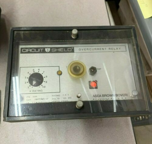 USED ABB OVERCURRENT RELAY 268T0565-AT
