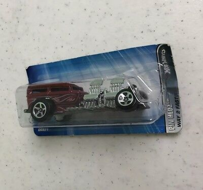 Hot Wheels Pin Hedz Faster Than Ever Way 2 Fast 2005
