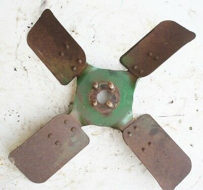 Water Pump Fan Blade 16 Late Model Oliver 550 Gas Engine Tractor White 2-44