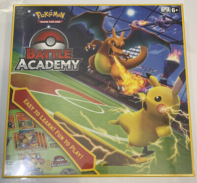 Pokemon Card BATTLE ACADEMY Hidden Fates Charizard GX Raichu GX Mewtwo GX Lot