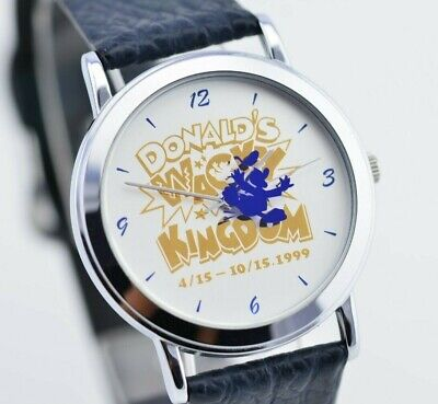 I639 Vintage Disney Special Donald's Wacky Kingdom Watch V821-1120 JDM Japan 121