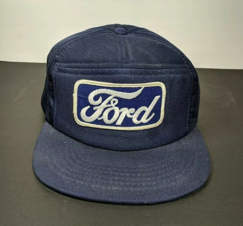 Vintage Ford Mechanic Hat Snapback Made In Usa Young An