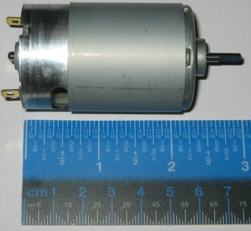 Mabuchi 555 12V DC Motor - Printer / Portable Drill / Robotics Hobby Motor