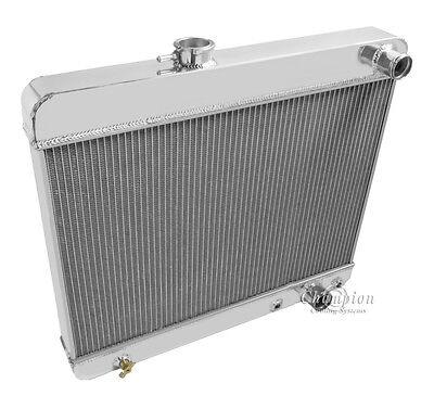 1965 Buick Skylark 3 Row All Aluminum Champion Radiator DR