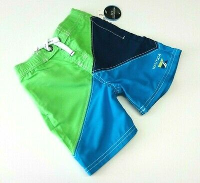 Badehose 80/86 NAUTICA UV Schutz Badebekleidung Junge Short Sommer USA Baby blau