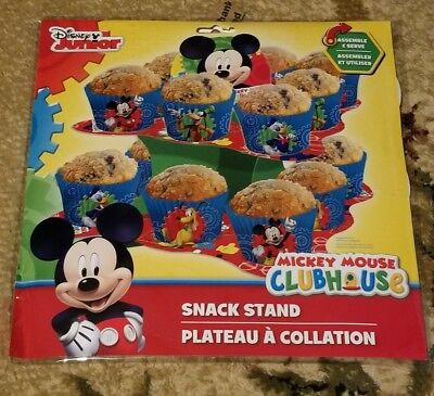 Disney junior Mickey mouse clubhouse snack stand party birthday cupcake - Mickey Mouse Cupcake Stand