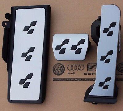 VW Passat 3C B6 B7 original R36 Pedalset CC Pedalkappen Fußstütze R-Line Pedale gebraucht kaufen  Emden