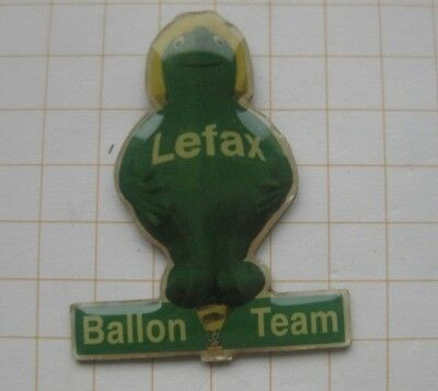 BALLON TEAM LEFAX  .........  Special Shape Ballon-Pin (138c)