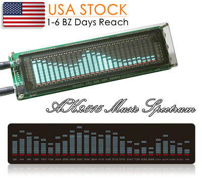 Music Spectrum Audio Level Indicator Vu Meter Screen Amplifier Vfd Led Display