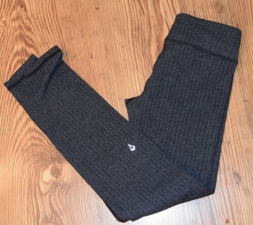 IVIVVA by Lululemon  Herringbone Leggings Heathered Black size 12