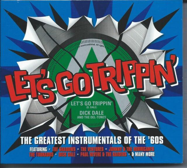 Let's Go Trippin' - The Greatest Instrumentals Of The '60s (3CD 2015) NEW/SEALED