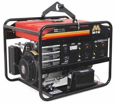 Generator 60005000 Watts 13.5 Hp Gasoline Subaru Ohv Electric Start