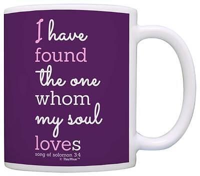 Wedding Gift Found the One Whom My Soul Loves Christian Coffee Mug Tea Cup - The Wedding Gift