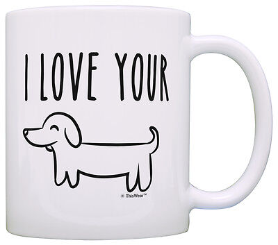 Funny Gifts for Boyfriend Anniversary Gifts I Love Your Coff