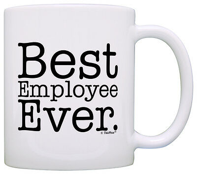 Coworker Gifts Best Employee Ever Coworker Office Award Coffee Mug Tea
