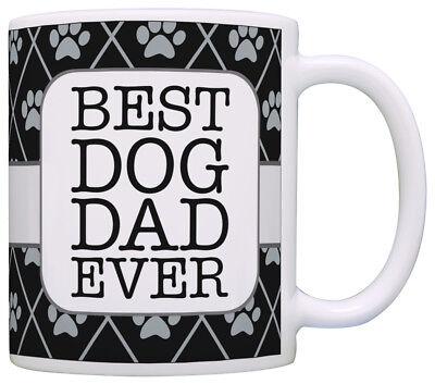 Dog Gifts for Men Best Dog Dad Ever Dog Lover Gifts for Men Coffee Mug Tea