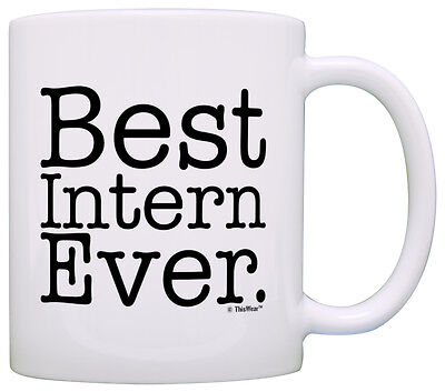 Internship Gifts Best Intern Ever Coworker Summer Intern Coffee Mug Tea