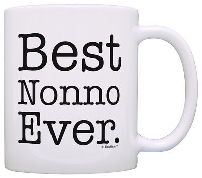 Nonna Gifts for Grandma Best Nonna Ever Italian Grandma Mug Coffee Mug Tea Cup Best Italian Coffee