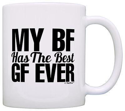 Anniversary Gift Girlfriend BF Has the Best GF Boyfriend Coffee Mug Tea