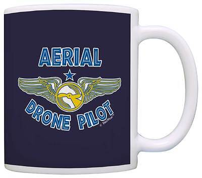 Quadcopter Gifts Aerial Drone Pilot Drone Flying Hobby Coffee Mug Tea Cup