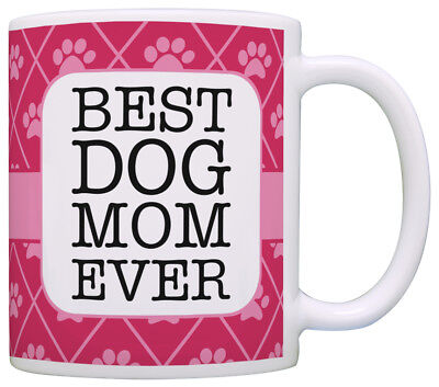 Dog Gifts for Women Best Dog Mom Ever Dog Lover Gifts for Coffee Mug Tea
