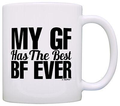Anniversary Gift for Boyfriend GF Has the Best BF Girlfriend Coffee Mug Tea