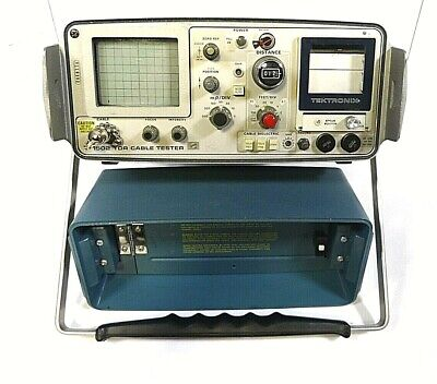 Tektronix 1502 Tdr Cable Tester - As Is - Free Ship