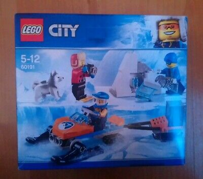 60191 LEGO City Arctic Expedition Arctic Exploration Team 70 Pieces BNIB