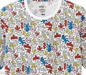 Keith haring x uniqlo multi image sprz ny moma art t shirt for Uniqlo moma t shirt