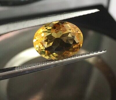 Natural AAA Citrine Oval Faceted Loose 8mmx10mm Gemstone 2CT