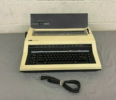 Vintage Nakajima Ae-340 Electric Typewriter Works Needs Ribbon Fast Shipping
