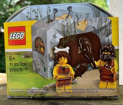 LEGO 5004936 2017 Iconic Cave Caveman Cavewoman Minifigures brand new SEALED