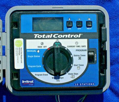 Irritrol Total Control TC-15EX-B 15 Station EXT/INT sys-Fst Shp,Warranty,Tested