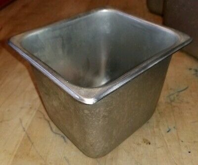 Winco Steam Pan Stainless Steel 18-8 Ss Sps6