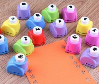 Mini Paper Cut Punch Scrapbook Craft Cutter Stencil Handheld Making Hole UK