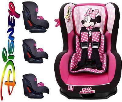 MISS MINNIE DISNEY NANIA Autositz - Kindersitz Gruppe 0+/I (0-18 kg) Modell