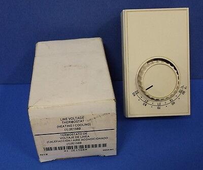 Line Voltage Thermostat 2e158b Nib Kjs