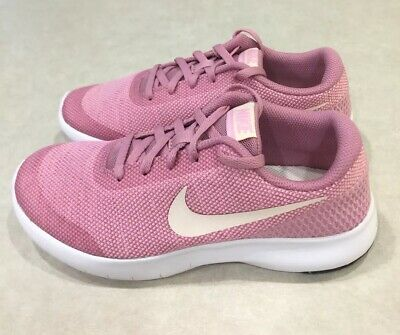 """NIKE """"Flex Experience RN 7 (GS)"""" Youth Girl's Elemental Pink Running Shoes~~5Y"""
