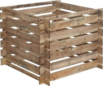 480L Wood Mezzito 100x100 Scots Pine Garden Waste Kompostieren Eco