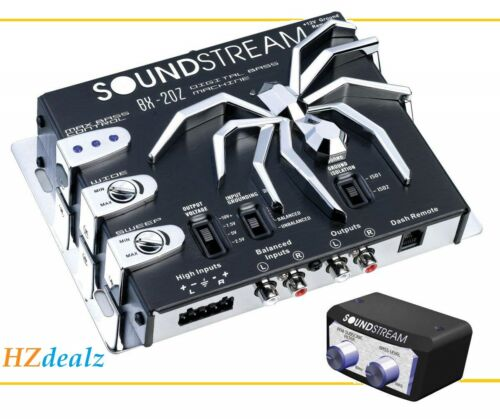 SOUNDSTREAM BX-20Z CAR DIGITAL BASS BOOST RECONSTRUCTION PROCESSOR EPICENTER
