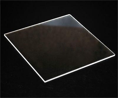 Clear Acrylic Plexiglass Sheet .090 X 12 X 24